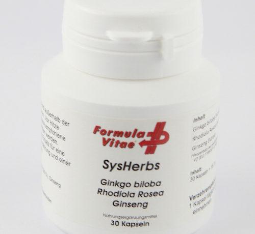 Formula Vitae – SysHerb