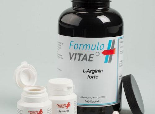 Formula Vitae – L-Arginin HD+